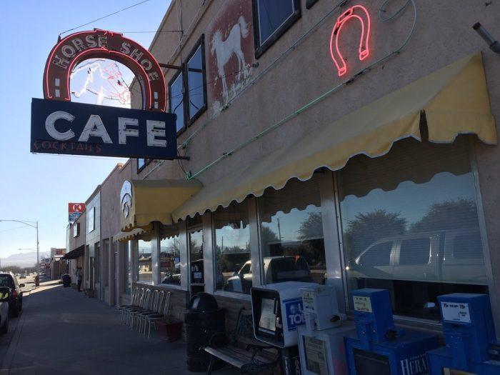 6. Horseshoe Cafe, Benson