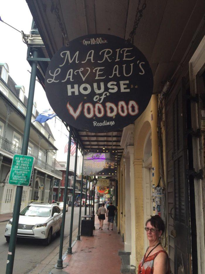 6) Marie Laveau's House of Voodoo, 739 Bourbon St.