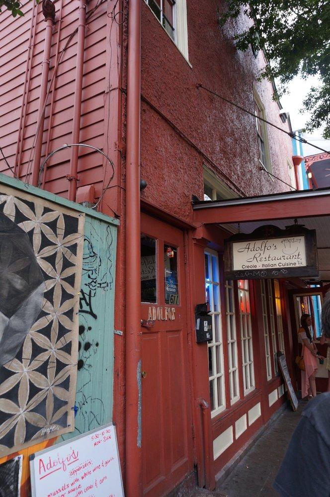 1. Adolfo's, 611 Frenchmen St., New Orleans