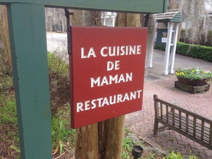 7. La Cuisine de Maman, 300 Fisher Rd. Vermilionville, Lafayette, LA