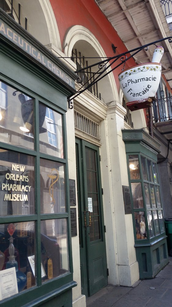 7) Pharmacy Museum, 514 Chartres St.