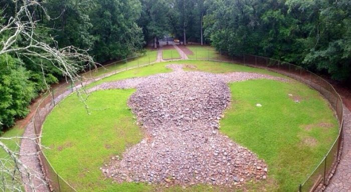 13. Rock Eagle, Eatonton