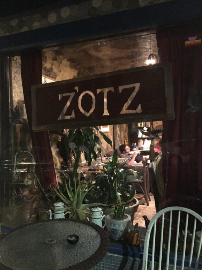 1) Zotz Coffee Shop, 8210 Oak St.