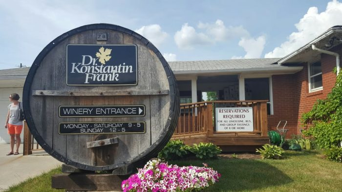 Time to enjoy New York's most famous wine region at Dr. Konstantin Frank Wine Cellars!