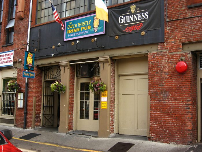 8. Owl N' Thistle Irish Pub & Restaurant, Seattle