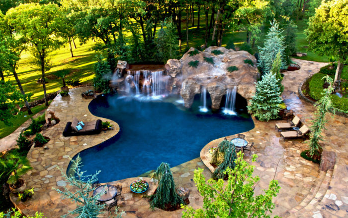 A piece of paradise in Oklahoma.