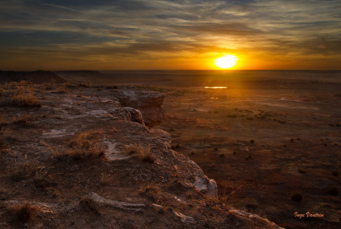 7. Some of the most gorgeous sunsets and sunrises are found in northwestern Oklahoma.