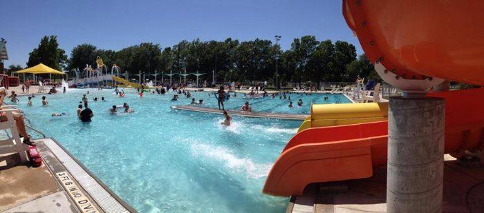 2. Crystal Beach Aquatics Center, Woodward