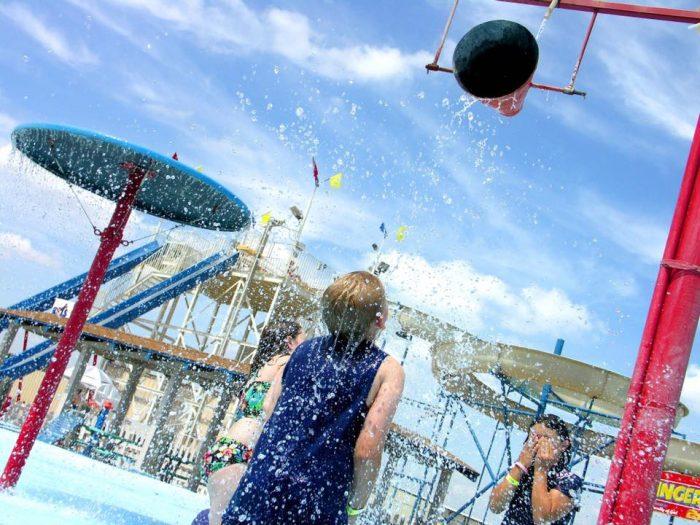5. Splash Zone Waterpark, Enid