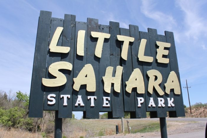 Named for its resemblance to the Sahara Desert, Little Sahara State Park offers 1,600 acres of rideable sand dunes.