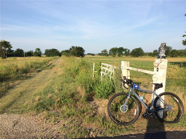 Bikes can also be ridden along Old Frisco trail.