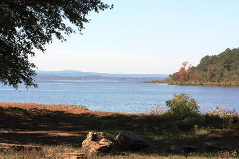Along the path to Wister, you'll pass the beautiful Cavanal Lake and end your hike just north of Lake Wister State Park, a stunning 33,000-acre area with more hiking and biking opportunities.