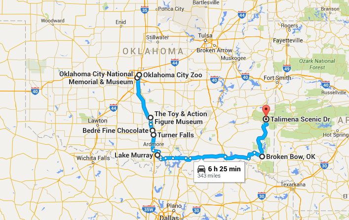 Gas Prices In California >> One Amazing Road Trip In Oklahoma...On One Tank Of Gas