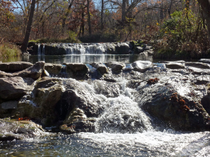 The park was originally established to preserve and protect the natural springs in the area. They were believed to have special, healing properties.