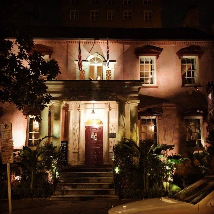 3. The Olde Pink House—23 Abercorn St, Savannah, GA 31401