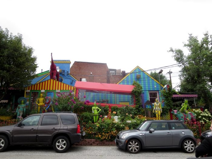 Located at 227 West 29th Street in Baltimore, you'll spot the colorful exterior of the Papermoon Diner.