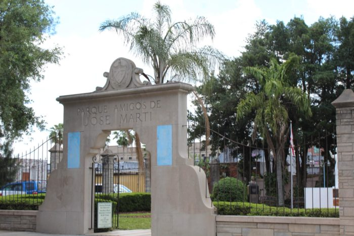 It sounds like a riddle, but there's actually a pretty straightforward answer. In the historic Ybor City neighborhood in Tampa, there's a small park that actually belongs to the Republic of Cuba.