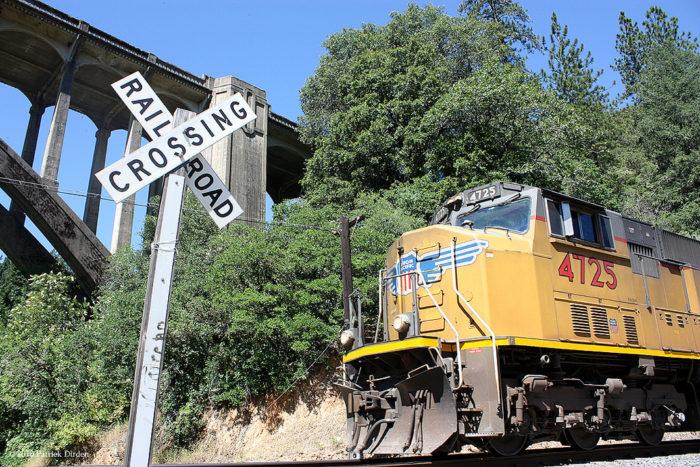 9. A Railroad And A Bridge
