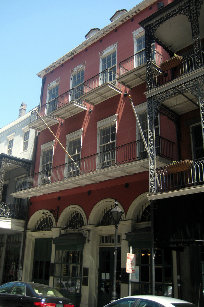 This museum is tucked away in the French Quarter at 514 Chartres St.