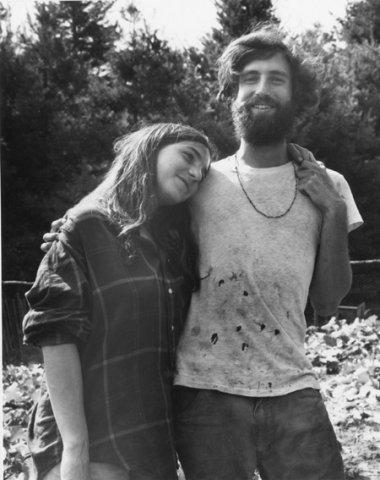 16.  Couple in Garden.