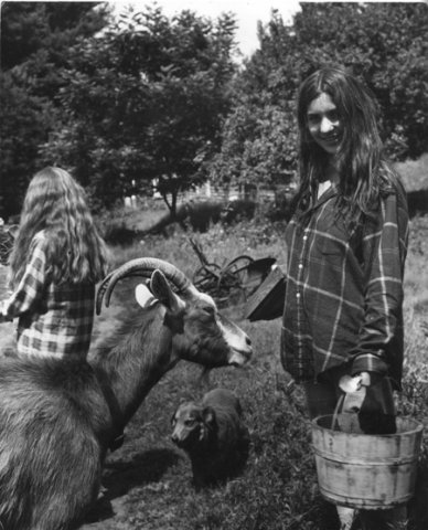 17.  Woman with Goat.