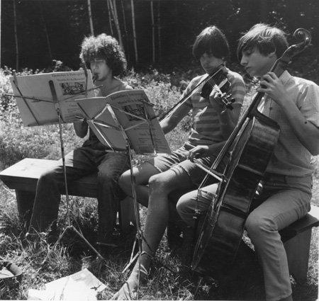 12.  Trio of Musicians.