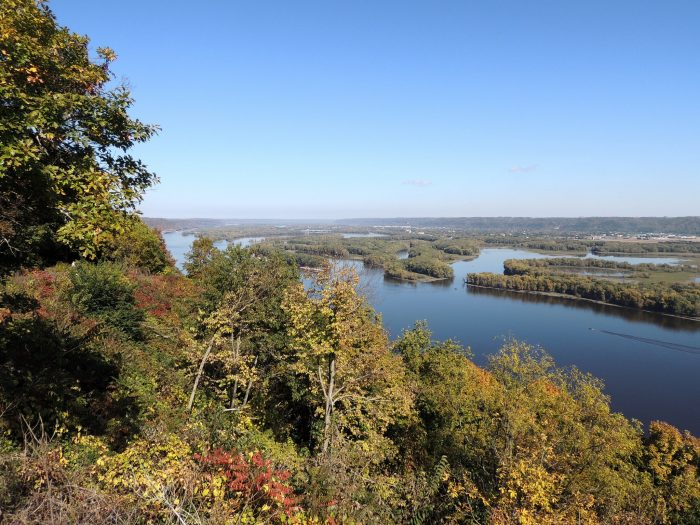 It's a great place to see all of Iowa's beautiful foliage in fall.