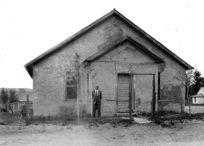 1. The Pilgrim Holiness Church in Arthur was built of hay bales.