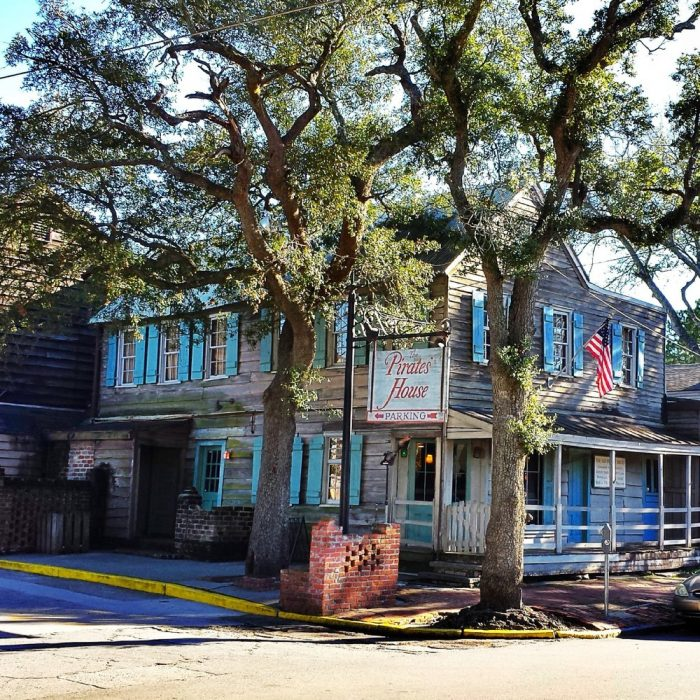 8. The Pirates' House—20 E Broad St, Savannah, GA 31401