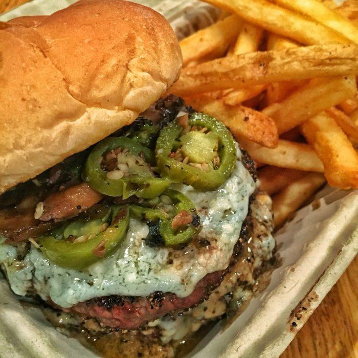 rays burger food