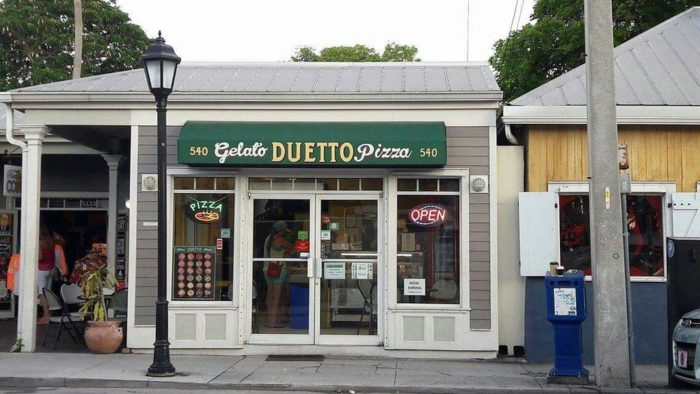 5. Duetto Pizza and Gelato, Key West