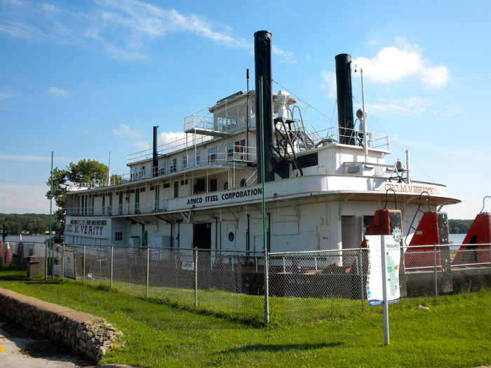 Visit the George M. Verity Riverboat Museum.