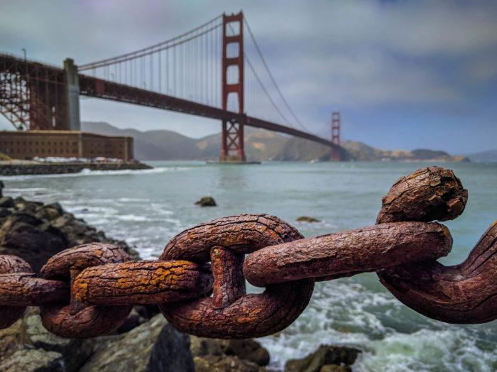 4. The Golden Gate Bridge