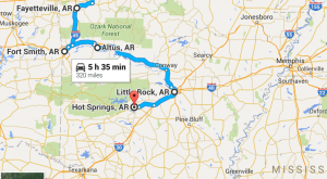 12 Amazing Places You Can Go On One Tank Of Gas In Arkansas