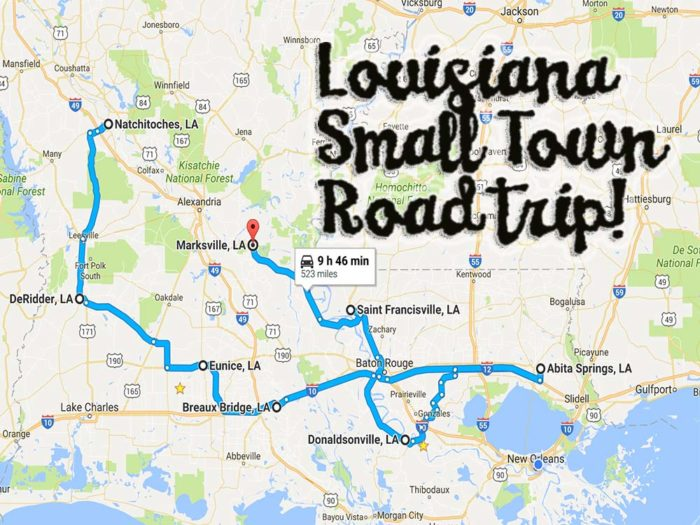 Take a Road Trip Through Louisianas Small Towns