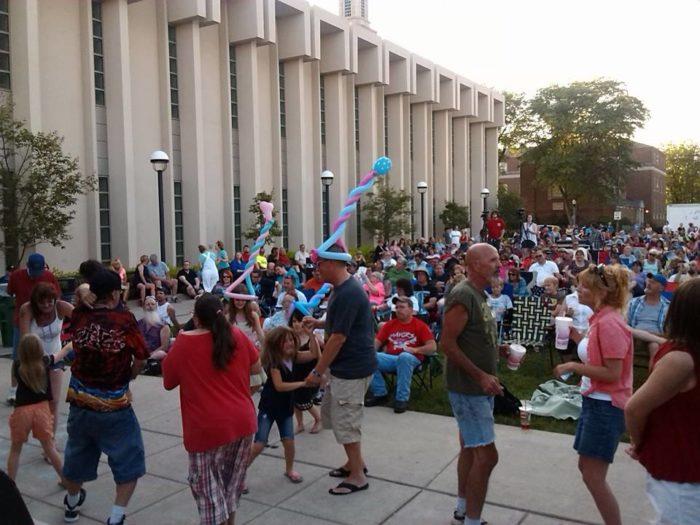 4. Rock the Plaza - Fort Wayne
