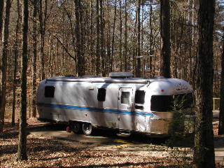 Bring your RV to stay in one of 109 campsites.