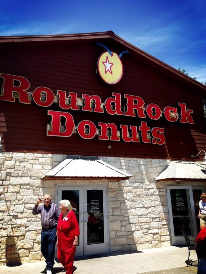 2. Box-sized donut at Round Rock Donuts (Round Rock)