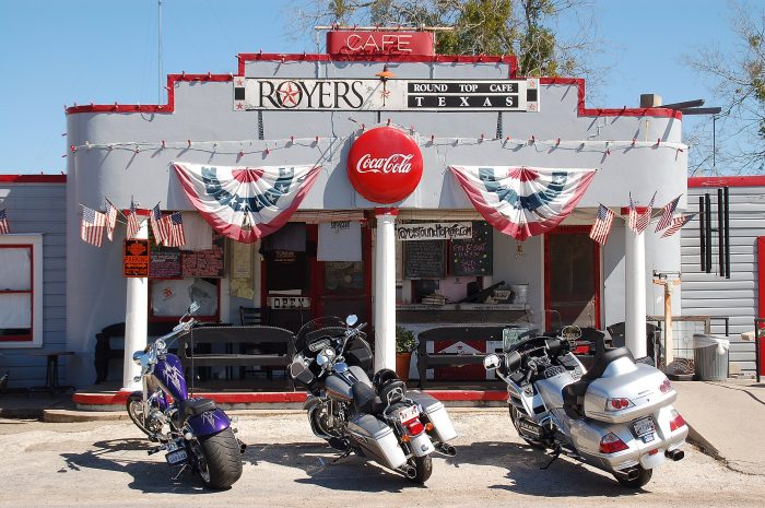 Devour a slice of pie at Royers Cafe.