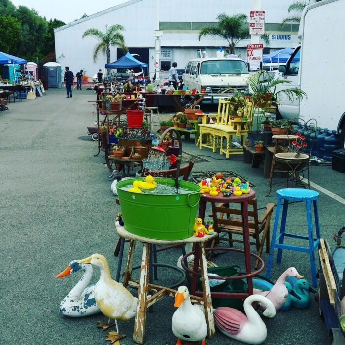 5. Santa Monica Airport Outdoor Antique and Collectible Market, 3050 Airport Avenue, Santa Monica