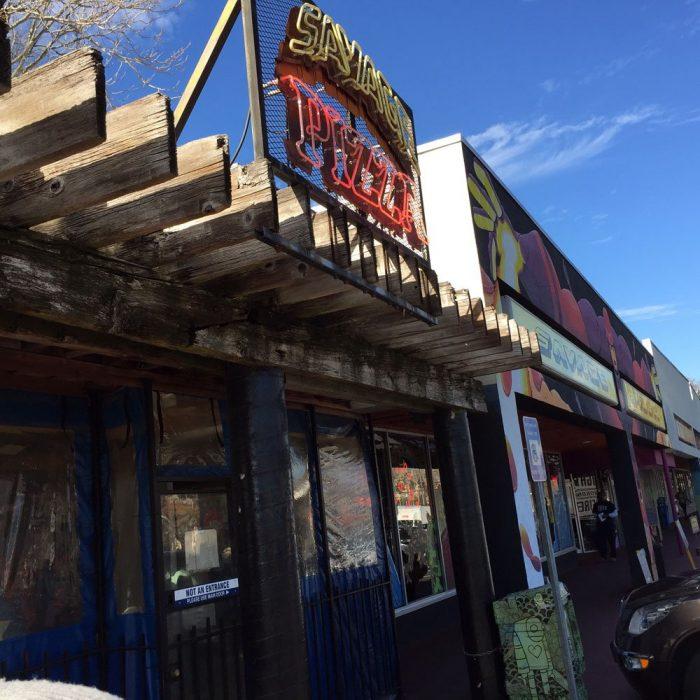 6. Savage Pizza—484 Moreland Ave NE Atlanta, GA 30307