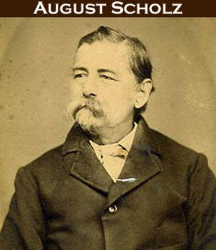August Scholz, a German immigrant and Civil War vet, established the restaurant the very year following the war's end.
