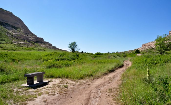 A trace of the Oregon Trail