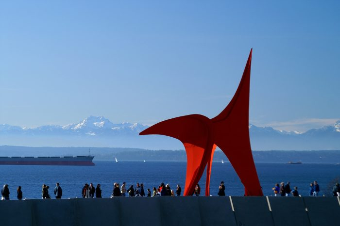 2. Go to the Olympic Sculpture Park