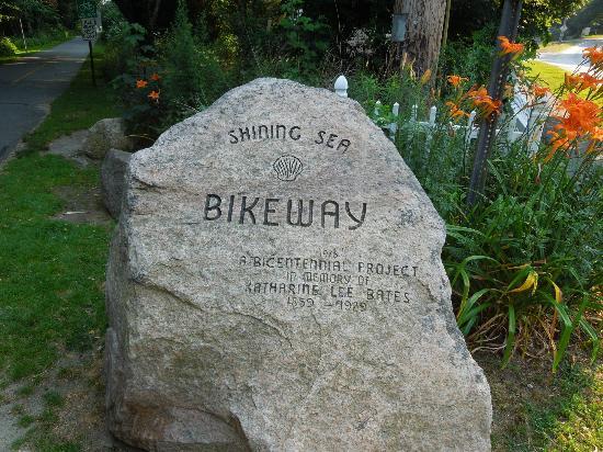 The Shining Sea Bikeway is one of Cape Cod's best hidden gems.