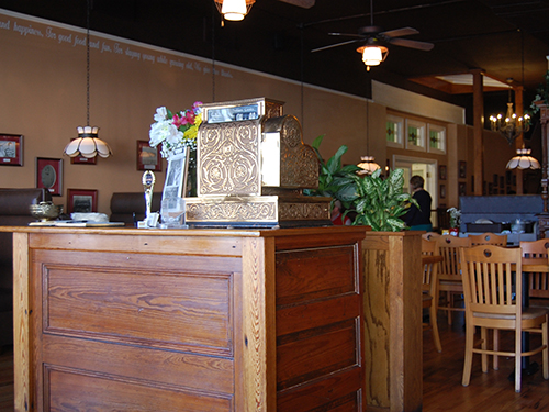 The Yesterday Cafe prides itself on delectable food, a welcoming atmosphere, and photographically honoring Greensboro across the walls of the restaurant.