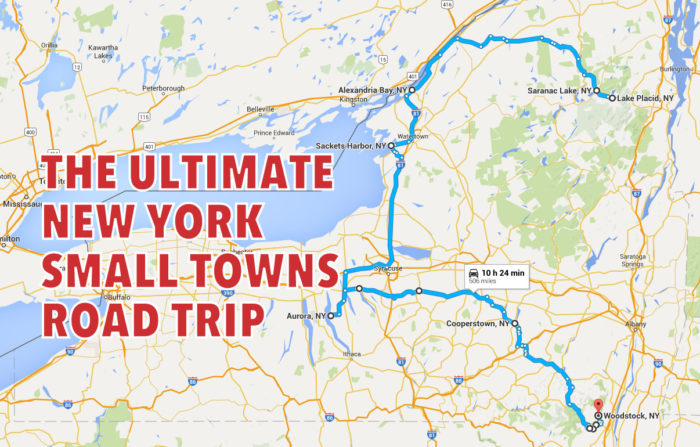 The ultimate new york small towns road trip google maps freerunsca Images