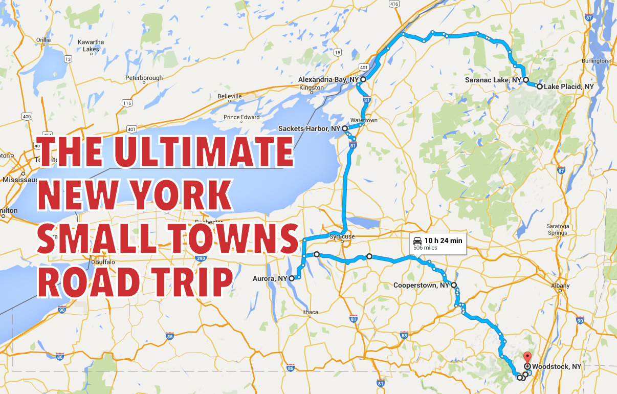 The Ultimate New York Small Towns Road Trip