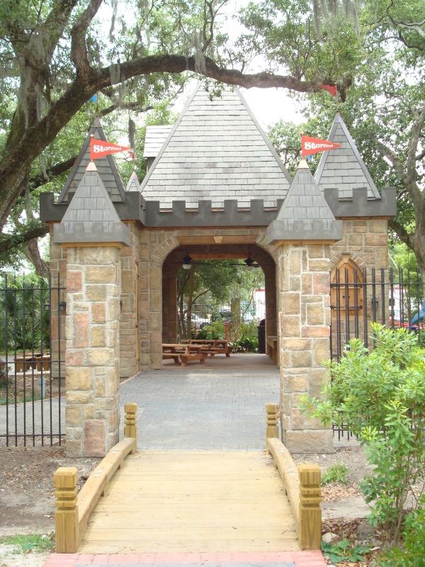 1) Castle Party Area, New Orleans City Park