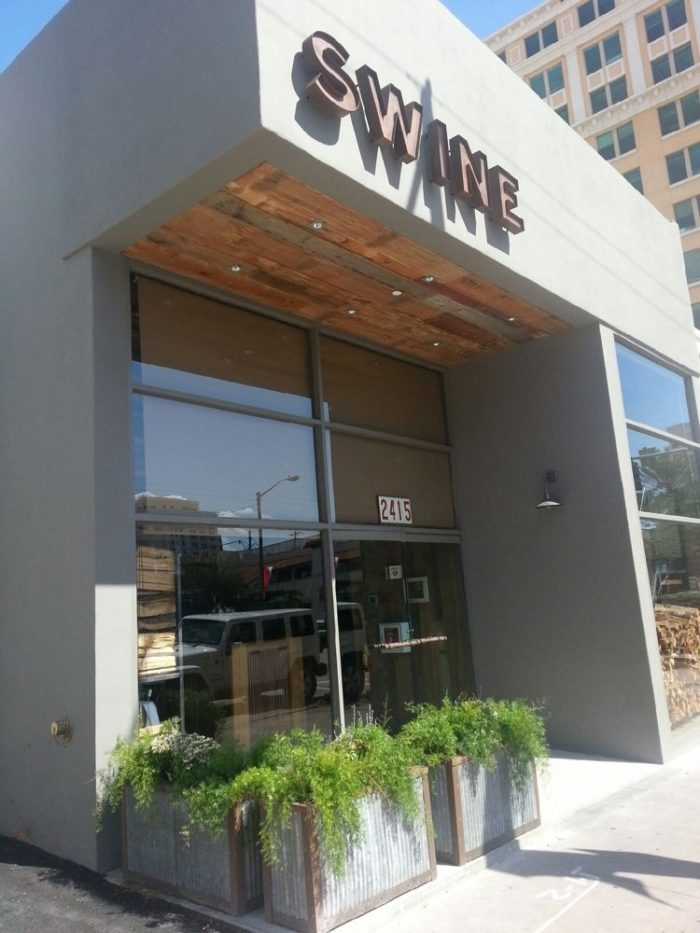 6. Swine Southern Table & Bar— 2415 Ponce De Leon Blvd, Coral Gables, FL 33134